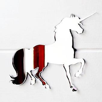 Unicorn acryl spiegel