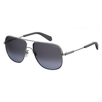 نظارات شمسية للجنسين 2055/S6LB/1A فضة/ رمادي