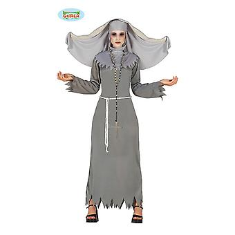 Bezeten nun dames kostuum Halloween horror demon