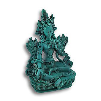 Boeddhistische groene Tara Statue