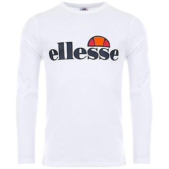 ellesse SL Grazie Long Sleeve T-Shirt - Blanc
