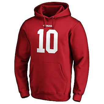 سان فرانسيسكو 49ers اتحاد كرة القدم الأميركي هودي #15 جيمي غاروبولو