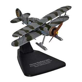 Gloster Gladiator With Skis (1939) Diecast Model Airplane