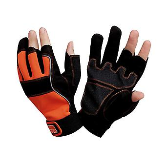 Bahco Carpenters' Fingerless Glove Large (Size 10) BAHGL01210