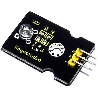 Keyestudio 5mm Green Straw Hat LED Module