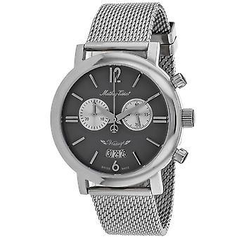 Mathey Tissot Men's Classic Black Dial Watch - H41CHTS