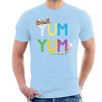 Utelias George Yum Yum Jäätelö Miesten't-paita