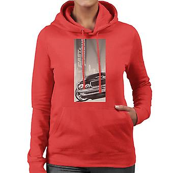 Fast and Furious Dodge Charger City Backdrop Women's Hooded Sweatshirt