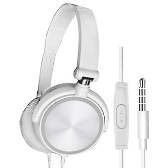 HEONYIRRY HiFi Gaming Headphones for PC / Xbox / PS4 / PS5 - Wired Headset Headphones White