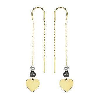 Pendant Heart Diamond Earring