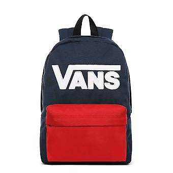 Vans New Skool Backpack Navy Red