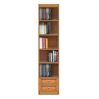 Librería modular con 2 cajones