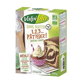 1,2,3 Pastry, special cakes 200 g of powder