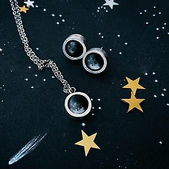 My Moon Petite And Chunky Jewelry Set