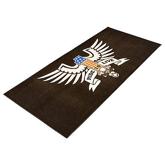BikeTek Serie 3 American Eagle Live to Ride Garage Mat 190x80cm