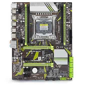 X99 D4 مجموعة اللوحة الأم مع Xeon E5 2620 V3 Lga2011-3 وحدة المعالجة المركزية 2pcs X 8gb = 16gb