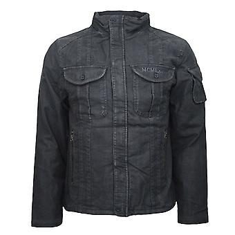 Nike hombres activo slim ajuste gris lavado chaqueta de espíritu con cremallera 227706 060