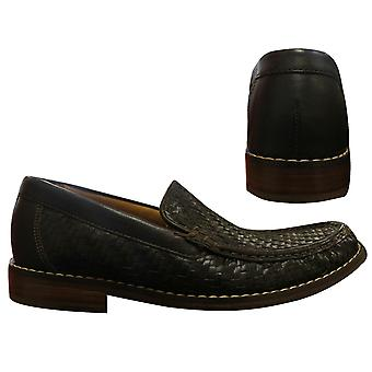 Cole Haan Air Geneva Handsewn Slip On Brown Leather Mens Shoes C07239 B72