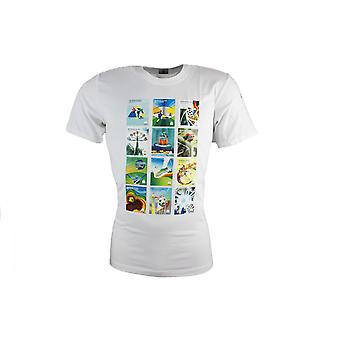 Adidas Sport 2014 FIFA World Cup White Tee T-Shirt Tops Short Sleeves F76895 R6d