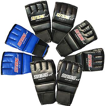 Adult fingerless boxing gloves