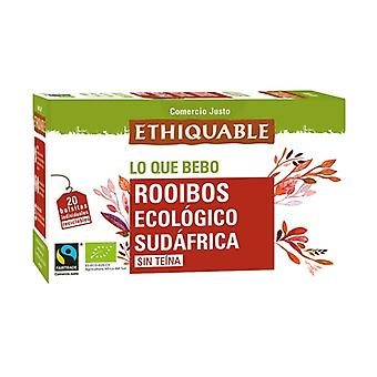 Organic Rooibos Infusion 20 infusion bags of 40g
