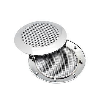 Alto-falante de rádio do chuveiro e ventilador de exaustão cobre acessórios de cabine