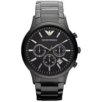 Armani Ar2453 Black Stainless Steel Men's Watch