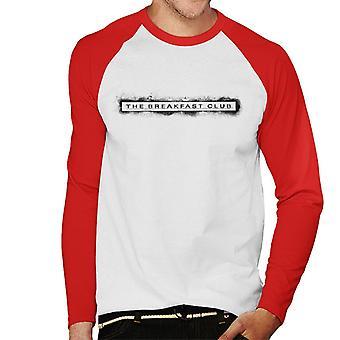 The Breakfast Club Spray Paint Underline Logo Men's Baseball camiseta de manga larga