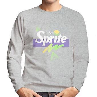 Sprite Enjoy Doodle Logo Men's Sweatshirt