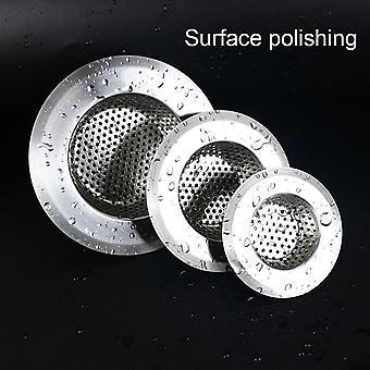 Kitchen Sink Strainer Hole Drain Filter Trap Metal Sink Strainer