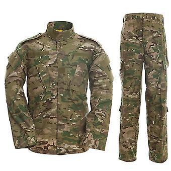 Multicam Kamuflasje Voksen Mannlig Sikkerhet Militær Uniform Og Taktisk Kamp