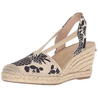 Anne Klein Women's Abbey tyg espadriller Wedge Sandal,