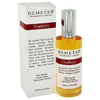 Demeter Cranberry Cologne Spray door Demeter 4 oz Cologne Spray