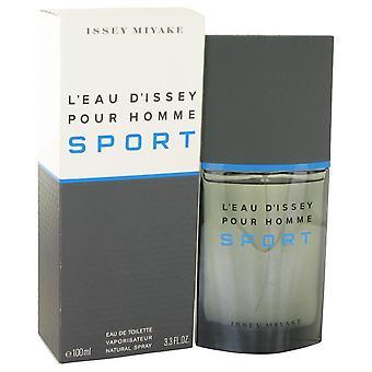 L'eau D'issey Pour Homme Sport Eau De Toilette Spray By Issey Miyake 3.4 oz Eau De Toilette Spray