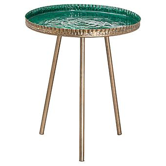 Hill Interiors Aztec Collection Embossed End Table