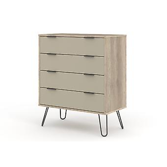 Augustine Driftwood 4 Tiroirs Commode