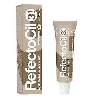 Refectocil Natural Brown Tint for Eyelashes and Eyebrows n ° 3,1 of 15 ml