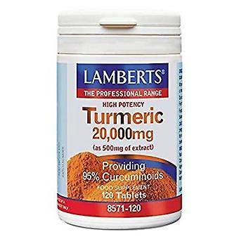 Lamberts Curcuma 120 Capsules