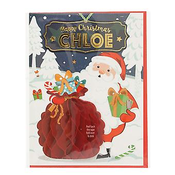 Historia ja heraldia Esi henkilökohtainen joulukortti Chloelle