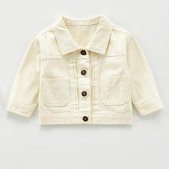 Children Denim Jackets Trench Jean Jackets Cartoon Outerwear Windbreaker