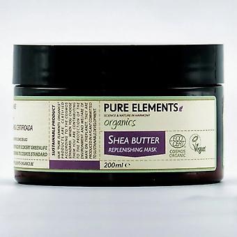 Pure Elements Organics Shea Butter Replenishing Mask