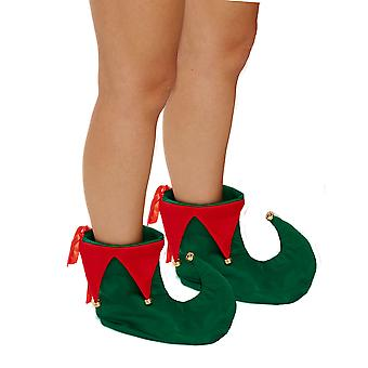 Christmas Shop Unisex Adults Deluxe Elf Boots