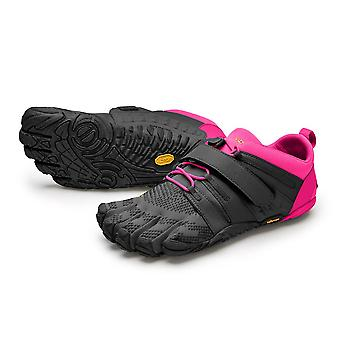V-TRAIN 2.0 Womens Training Five Fingers Barefoot Feel Shoes Trainers - Black/Pink