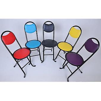 Vikbar & bärbar ergonomisk stol Trädgård Uteplats Metall