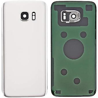 FengChun Akkufachdeckel Akkudeckel Rückseite Glas für Original Samsung Galaxy S7 G930 Serie Weiß