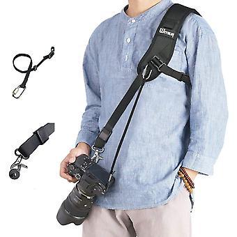FengChun WITHLIN Kamera Gurt - Verlängerter Schultergurt mit Sicherheits Tether für Kamera DSLR SLR