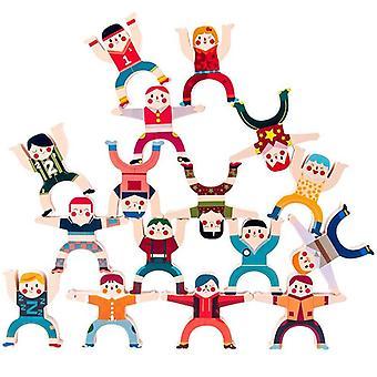 Drewniane Hercules Stosy wysokich bloków Puzzle Zabawki dla dzieci Zabawki Stolikowe Stragany Źródło Jenga