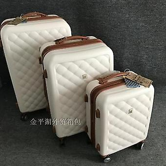 Rolling Luggage Wheel Trolley, Travel Suitcase, Boarding Bag Trunk