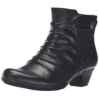 Cobb Hill Womens ABILENE Leather Round Toe Ankle Fashion Boots
