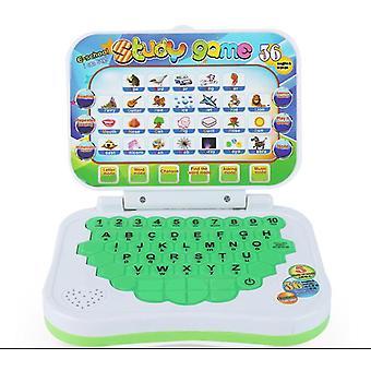 Tablet verde per bambini tablet di apprendimento dell'inglese per bambini giocattolo didattico con ottima scelta x4166